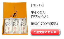 半生うどん NU-17